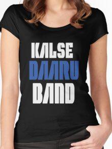 Daaru Band Funny Geek Nerd Women's Fitted Scoop T-Shirt