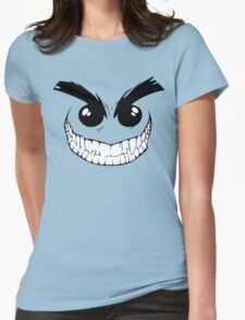 Devil Smiley Funny Geek Nerd Womens Fitted T-Shirt