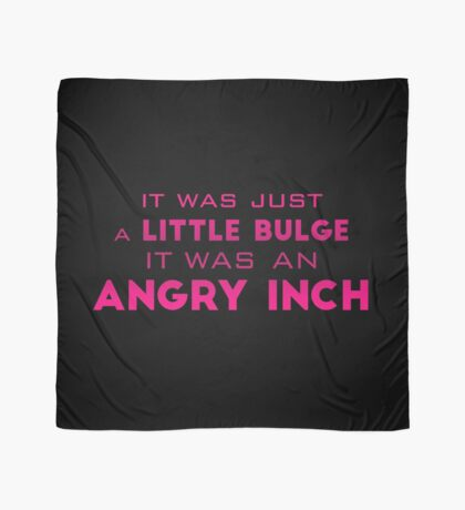 angry inch Scarf