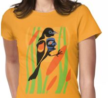 Red-winged blackbird Womens Fitted T-Shirt