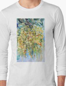 Yellow acacia Long Sleeve T-Shirt