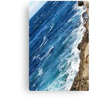 Irish Blue Canvas Print