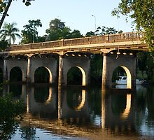 End of an Era ~ East Innisfail 'Jubilee' Bridge  by Kerryn Madsen-Pietsch
