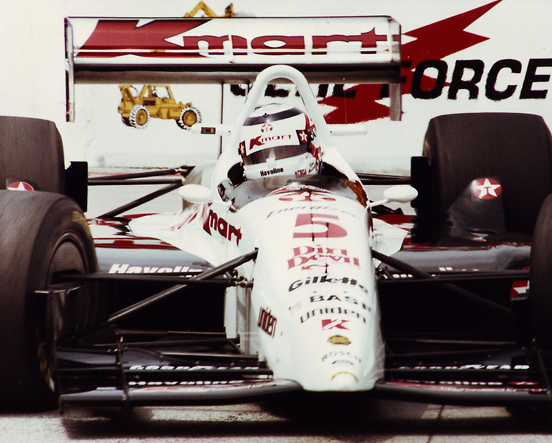 Red 5 - Nigel Mansell at Long Beach by Matthew Walters