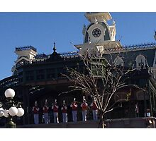 Main Street Philharmonic at Main Street Station Photographic Print