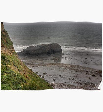Saltwick Nab - Saltwick Bay. Poster