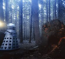 Dalek Forest by Mark Llewellynn