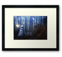 Dalek Forest Framed Print