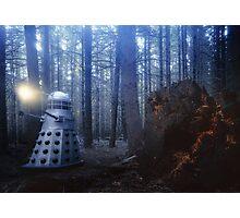 Dalek Forest Photographic Print