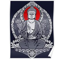Siddhartha Gautama Buddha Sunrise Poster