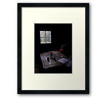 Walkers Hut  Framed Print