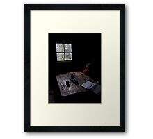 Walkers Hut  Framed Print