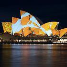 Opera House Vivid Festival by Zachary Law