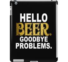 Hello Beer Funny Geek Nerd iPad Case/Skin