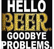 Hello Beer Funny Geek Nerd Photographic Print