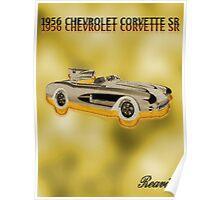 1956 CHEVROLET CORVETTE SR Poster