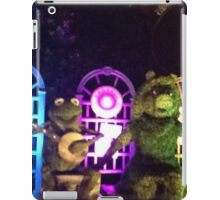 Kermit and Miss Piggy- EPCOT Flower and Garden Show iPad Case/Skin