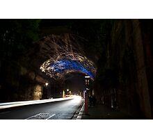 Argyle St Tunnel Vivid Festival Photographic Print