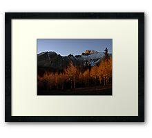 Wheeler at sunrise Framed Print