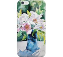 Still life with flowers iPhone Case/Skin