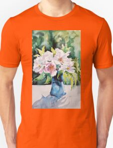 Still life with flowers Unisex T-Shirt