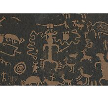 Pictographs Photographic Print