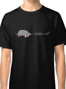 Chemistry Mole - The Scientific Mole Classic T-Shirt