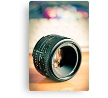 50mm lens and Bokeh Canvas Print