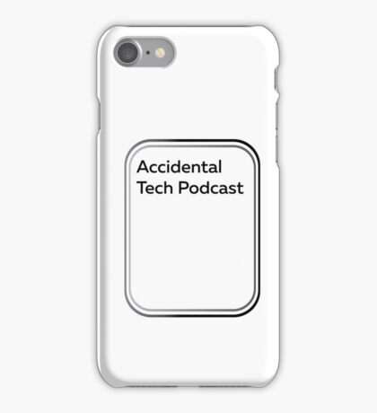 accidental tech podcast iPhone Case/Skin