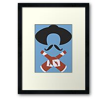 Hot Sauce Bandito Funny Geek Nerd Framed Print