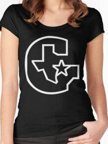 Houston Gamblers Funny Geek Nerd Women's Fitted Scoop T-Shirt