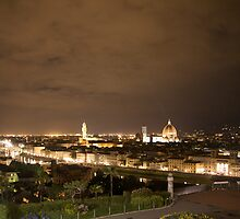 firenze di notte by linelight