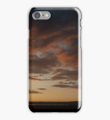Sundown severn valley iPhone Case/Skin