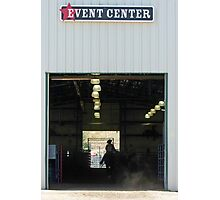 EVENT CENTER Photographic Print