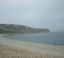 Chesil Beach on Portland by Songwriter