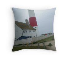 Portland Bill, Dorset Throw Pillow
