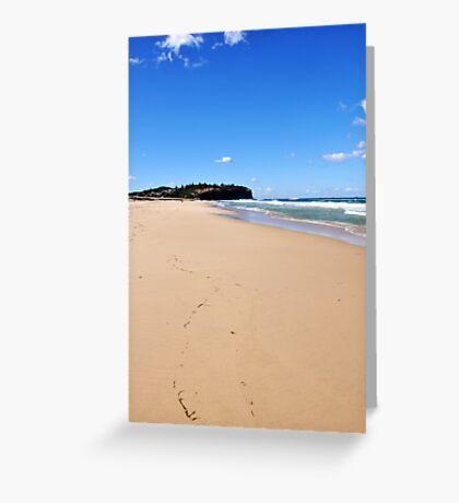 Under blue skies Greeting Card