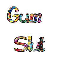 Gum Slut Photographic Print