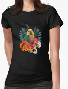 Nature beauty Womens Fitted T-Shirt