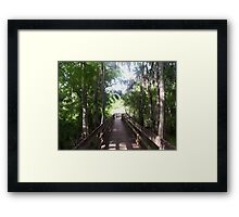 Walkway to the Light Framed Print