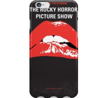 No153 My The Rocky Horror Picture Show minimal movie poster iPhone Case/Skin