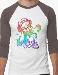 Squid Girl Men's Baseball ¾ T-Shirt