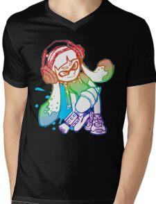Squid Girl Mens V-Neck T-Shirt
