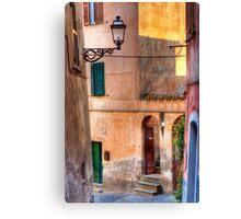 Italian alley Canvas Print