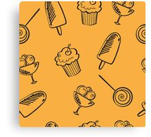 Sweets. Canvas Print