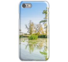 Trees Close to the River iPhone Case/Skin