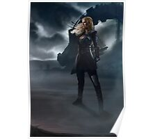 To War : Clarke Griffin Poster