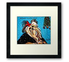 MY DOG RAT  MODERN ART  Framed Print