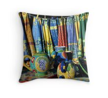 Pots and cloths Throw Pillow