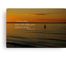 """""""Fishers of men"""" Canvas Print"""